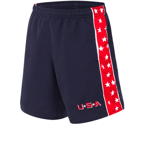 D2 Mighty Ducks Team USA Shorts