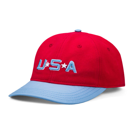 D2 Mighty Ducks Team USA Snapback Hat