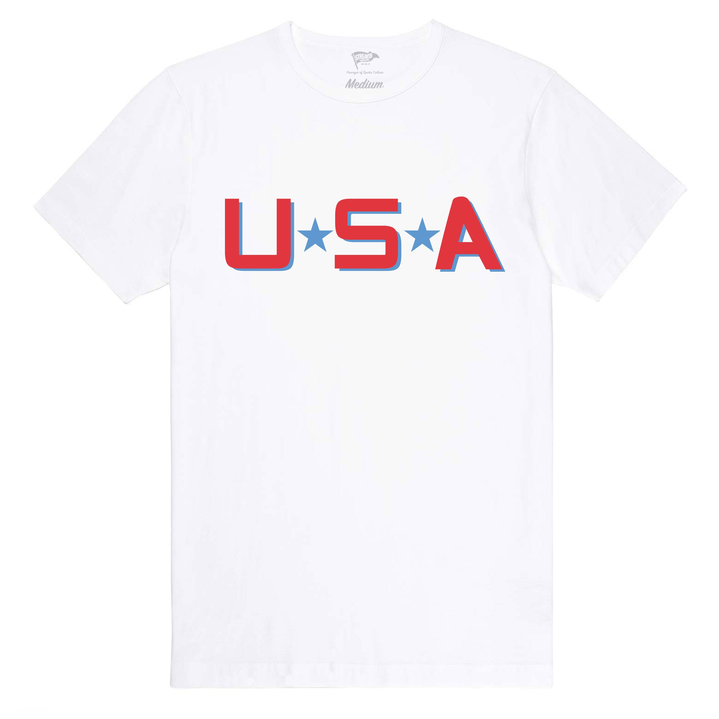 D2 Mighty Ducks Team USA Warm Up Tee - Streaker Sports