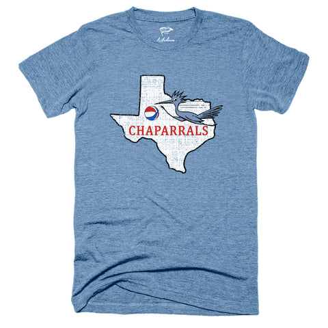 1971 Dallas Chaparrals Tee - Streaker Sports