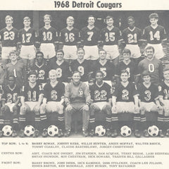 1967 Detroit Cougars Tee