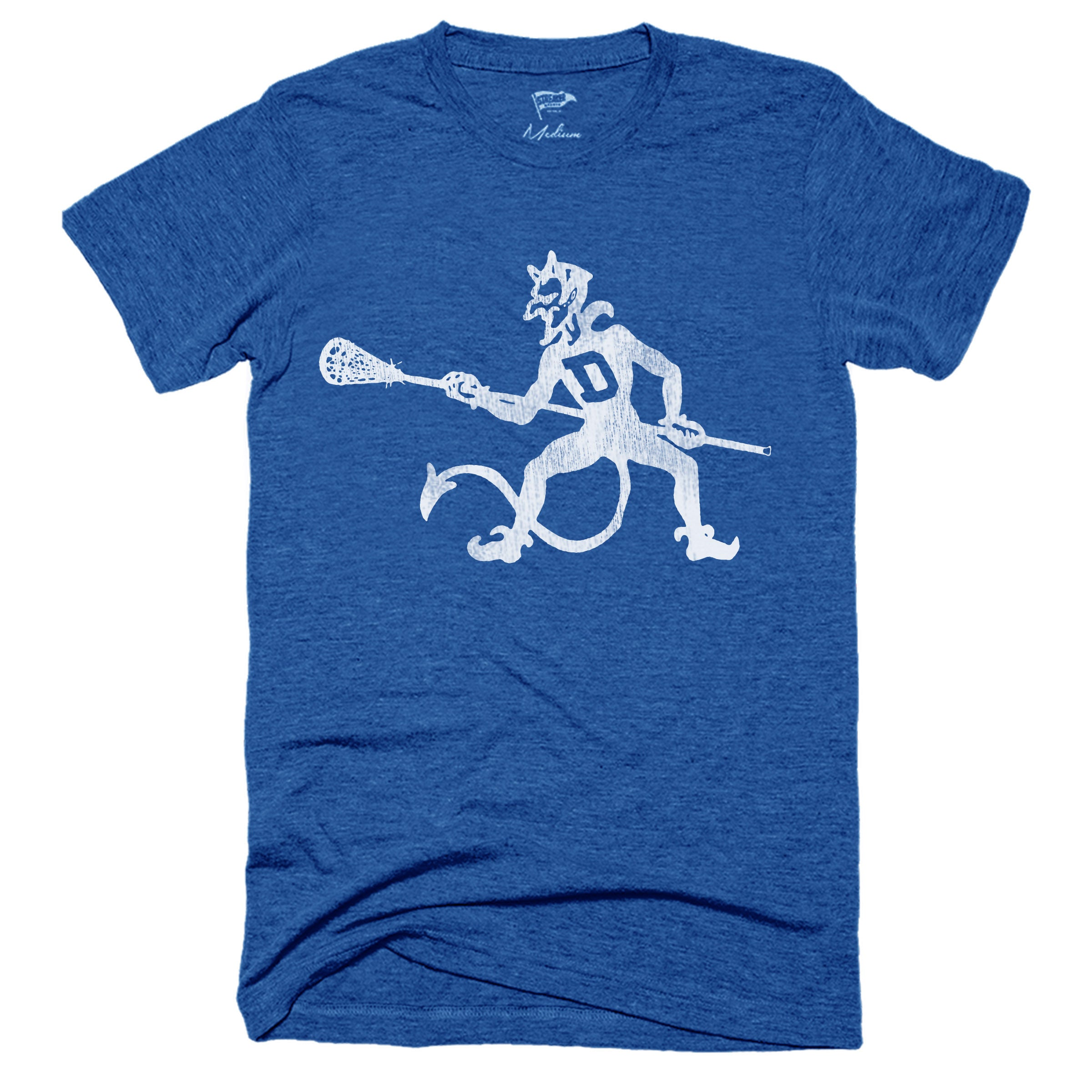 Throwback Blue Devils Lacrosse Tee - Streaker Sports