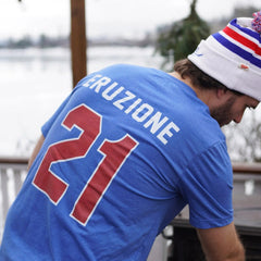 Mike Eruzione 1980 Miracle Jersey Tee Away - Streaker Sports