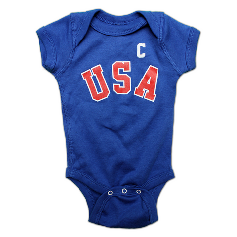 Mike Eruzione 1980 Miracle Baby Onesie - Streaker Sports