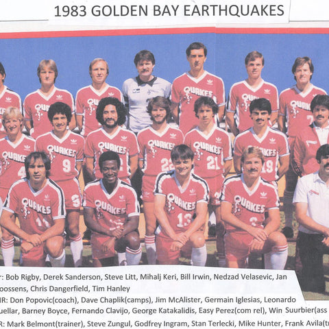 1973 Golden Bay Earthquakes Tee