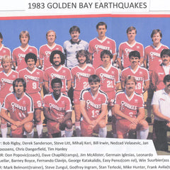 1973 Golden Bay Earthquakes Tee - Streaker Sports
