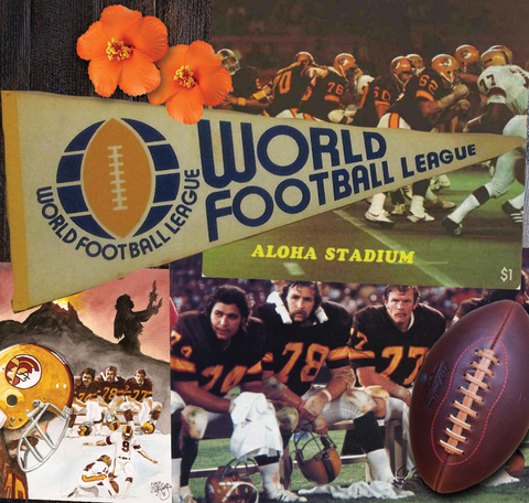 1975 Honolulu Hawaiians WFL Tee - Streaker Sports
