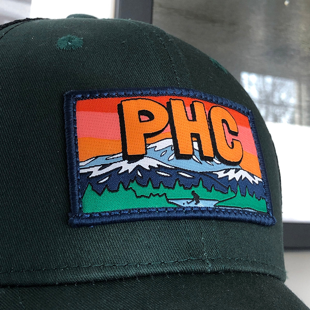 Pond Hockey Classic™ Trucker (Green) - Streaker Sports