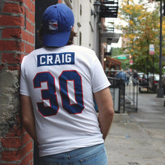 Jim Craig 1980 Miracle Jersey Tee Home