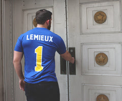 Charlestown Chiefs Denis Lemieux Mask Jersey Tee - Streaker Sports