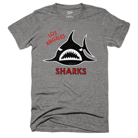 1972 Los Angeles Sharks Tee - Streaker Sports