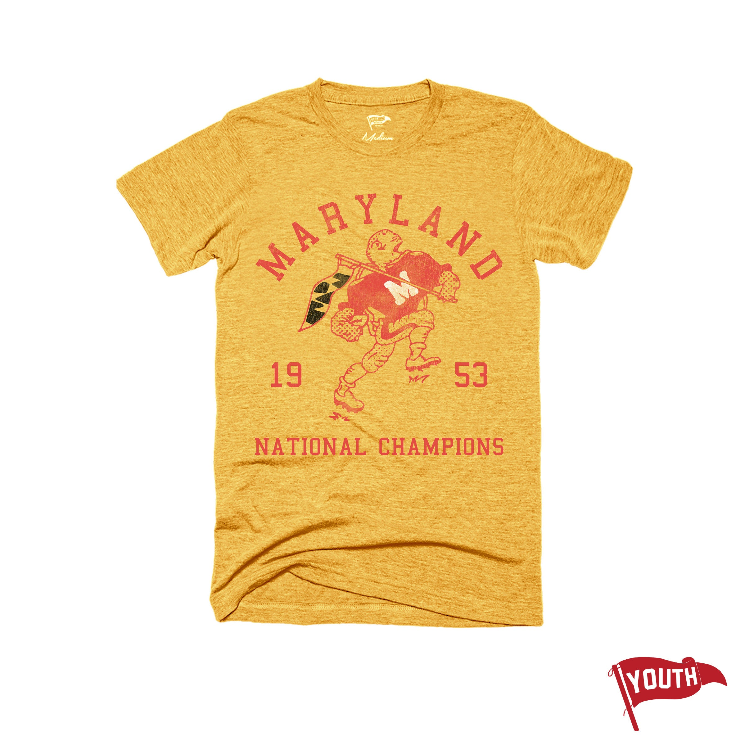 1953 Maryland National Champs Youth Football Tee