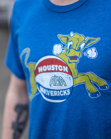 1967 Houston Mavericks Tee - Streaker Sports