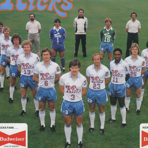 1976 Minnesota Kicks Tee - Streaker Sports