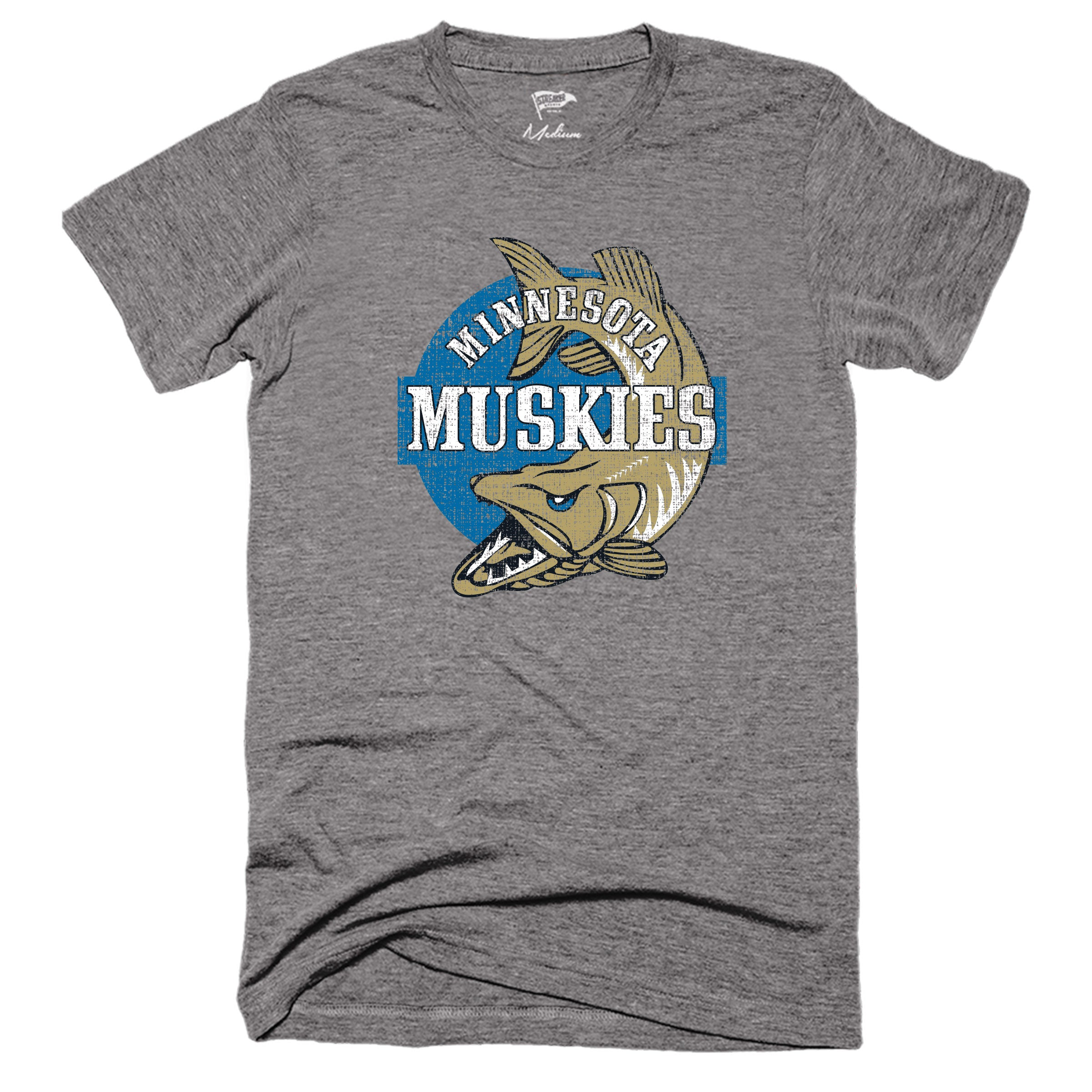 1967 Minnesota Muskies Tee - Streaker Sports