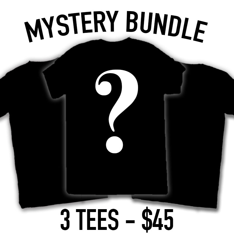 Mystery Tee Bundle - 3 PACK