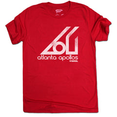 1967 Atlanta Apollos Tee - Streaker Sports