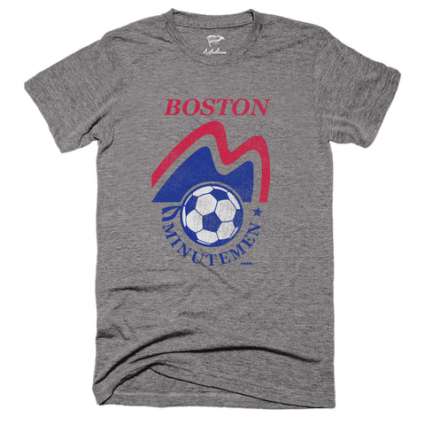 1974 Boston Minutemen Tee - Streaker Sports