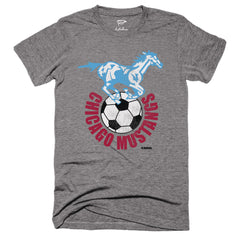 1967 Chicago Mustangs Tee