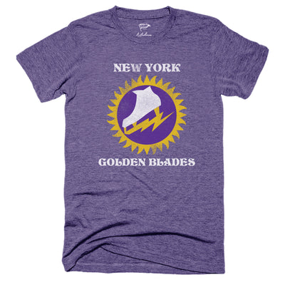 1973 New York Golden Blades Tee - Streaker Sports