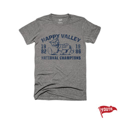 Penn State National Champs Youth Football Tee