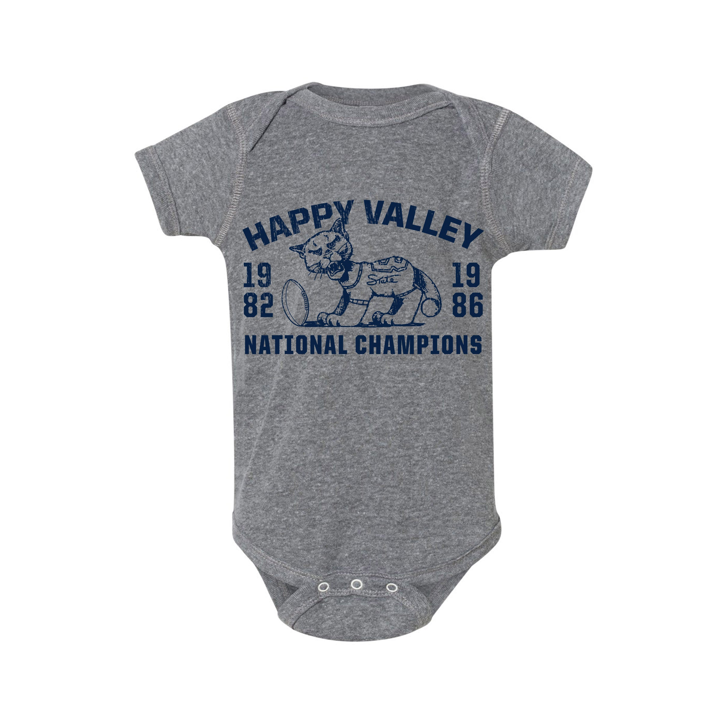 Penn State National Champs Football Onesie