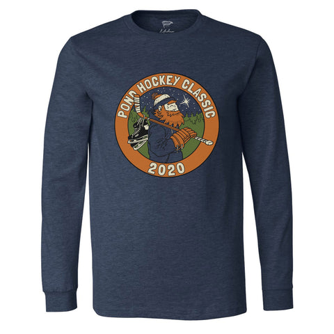 Pond Hockey Classic™ 2020 Navy Long Sleeve Shirt - Streaker Sports