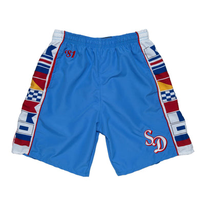 1981 Streaker Sports x Knockaround San Diego Clippers Shorts - Streaker Sports