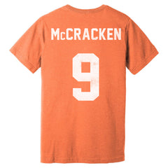 "Syracuse Bulldogs Tim ""Dr. Hook"" McCracken Jersey Tee - Streaker Sports"