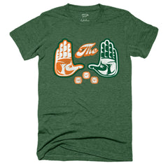 'The U' National Champs Football Tee - Streaker Sports