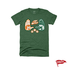 'The U' National Champs Youth Football Tee - Streaker Sports