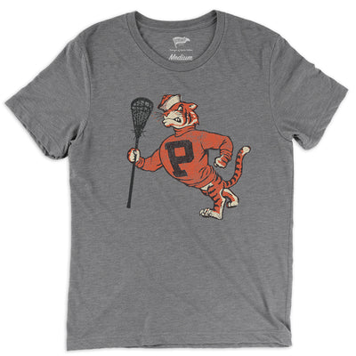 Throwback Tigers Lacrosse Tee - Streaker Sports