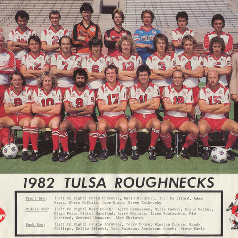 1977 Tulsa Roughnecks Tee - Streaker Sports