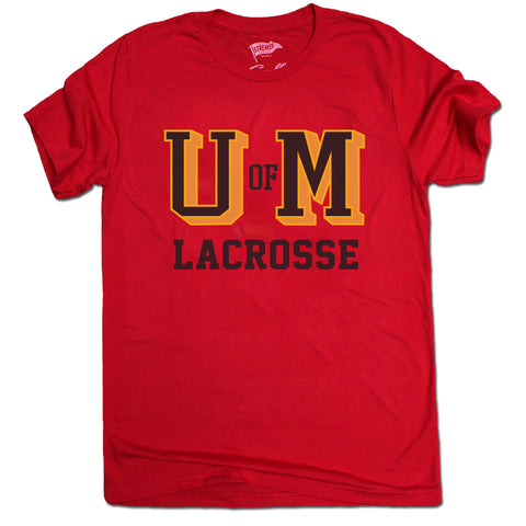 Throwback Terps Lacrosse Tee - Streaker Sports
