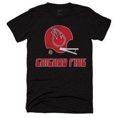 1974 Chicago Fire WFL Tee - Streaker Sports