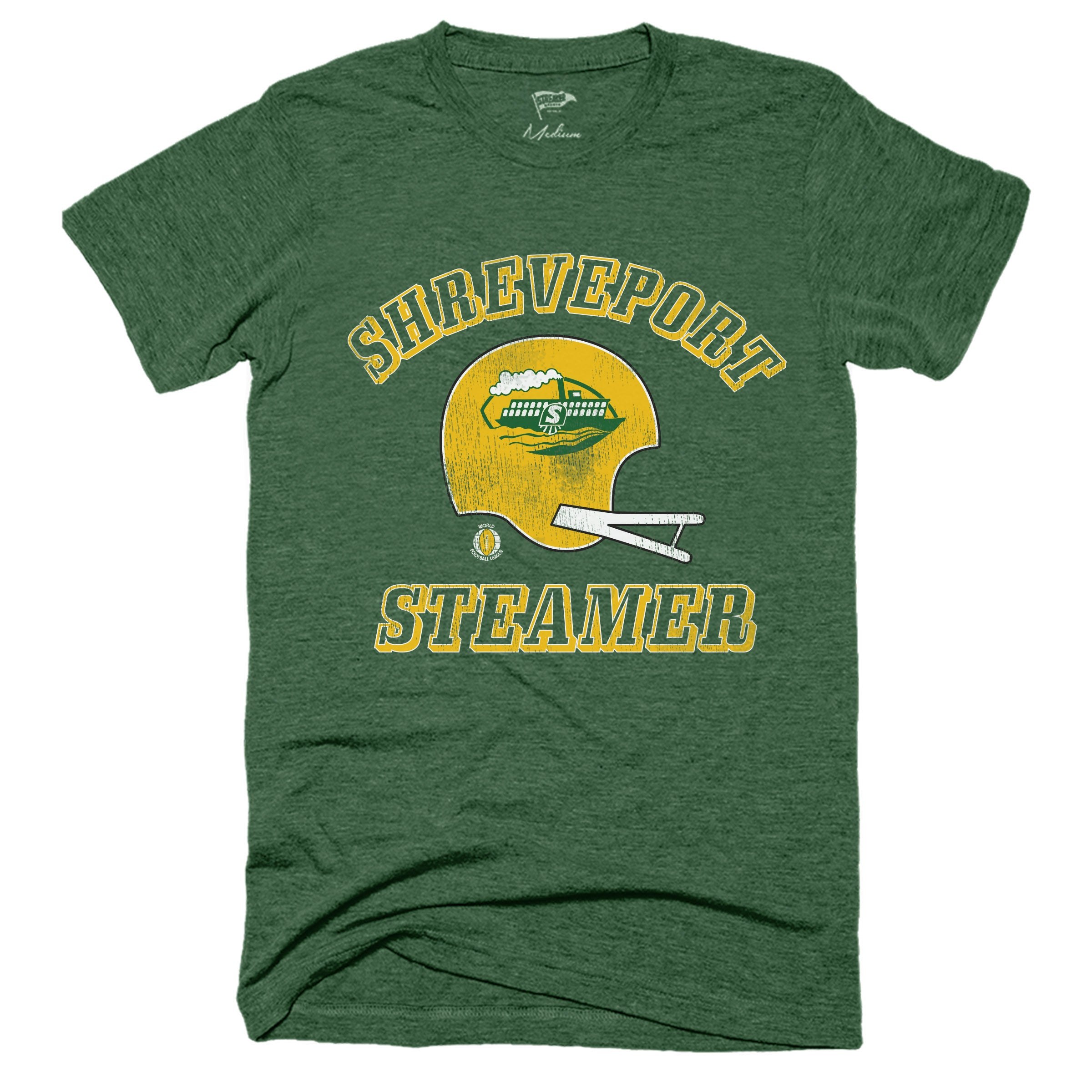 1974 Shreveport Steamer WFL Tee - Streaker Sports