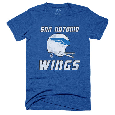 1975 San Antonio Wings WFL Tee - Streaker Sports