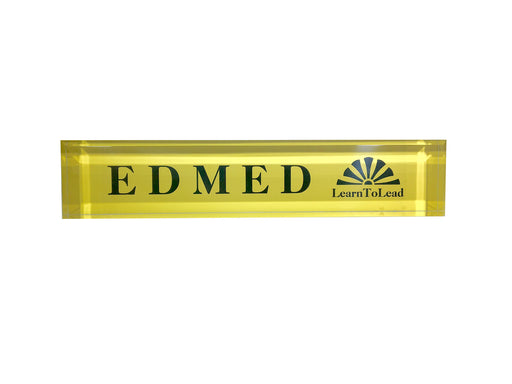 EDMED Desk Sign