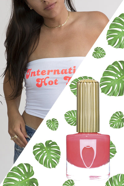 INTERNATIONAL HOT GIRL TUBE TOP + POLISH BUNDLE