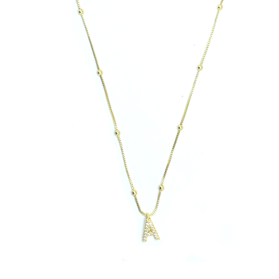 Glam Initial Necklace