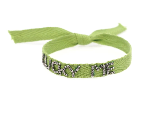 Lucky Me Ribbon Bracelet