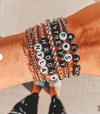 Soul Custom Beaded Bracelet - Black