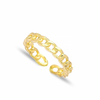Link Chain Adjustable Ring