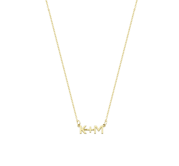 Initials Plus Necklace