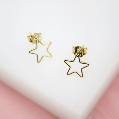 Stars Silhouette Earrings