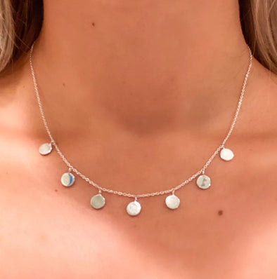 Silver Drops Necklace