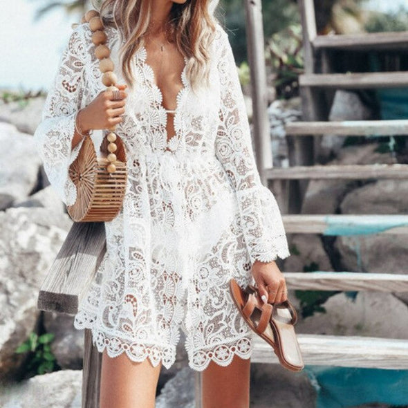 Lina Lace Mini Dress