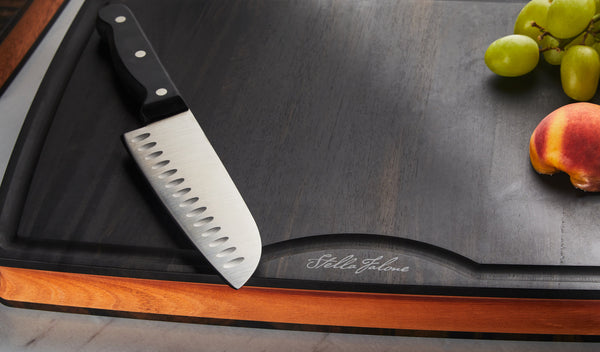 Stella Falone Ebony Cutting Boards Featured on Well + Good Holiday Shopping List