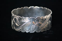 Sterling Silver Hawaiian Bracelet -28mm