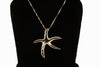 Sterling Silver Large Starfish Necklace